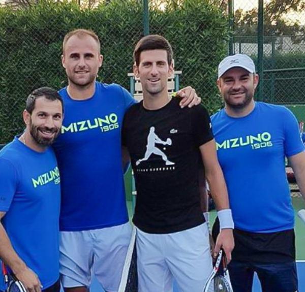 Daniel Tudorache Marius Copil Novak Djokovic tennis conditioner